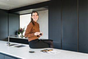 Moderne keuken keukeneiland