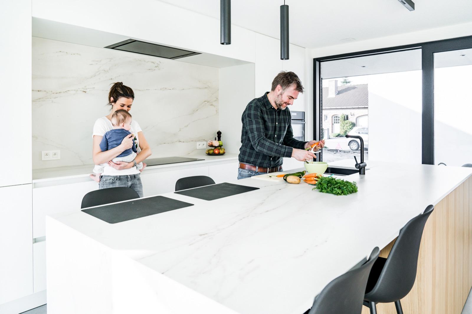 Marmer keuken